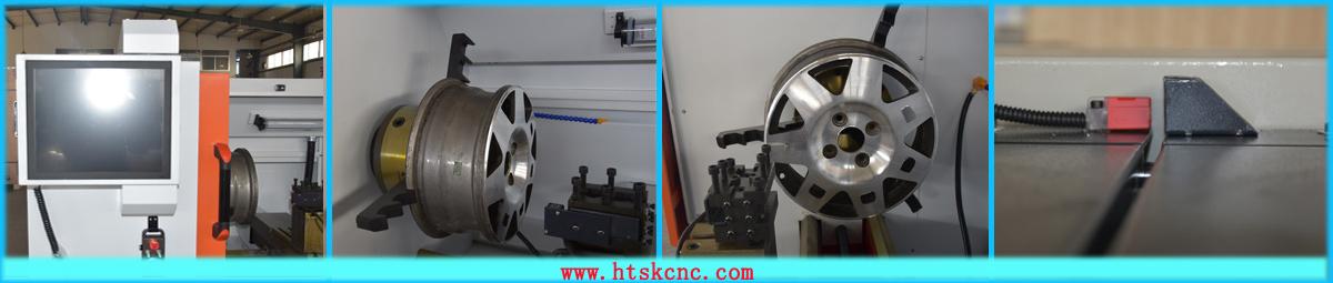 铝合金轮毂拉丝机